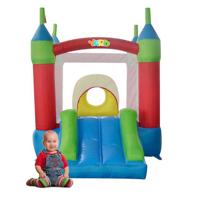 Yard envío libre mini gorila inflable obstáculo inflable castillo inflable combo gorila para diversión de los niños