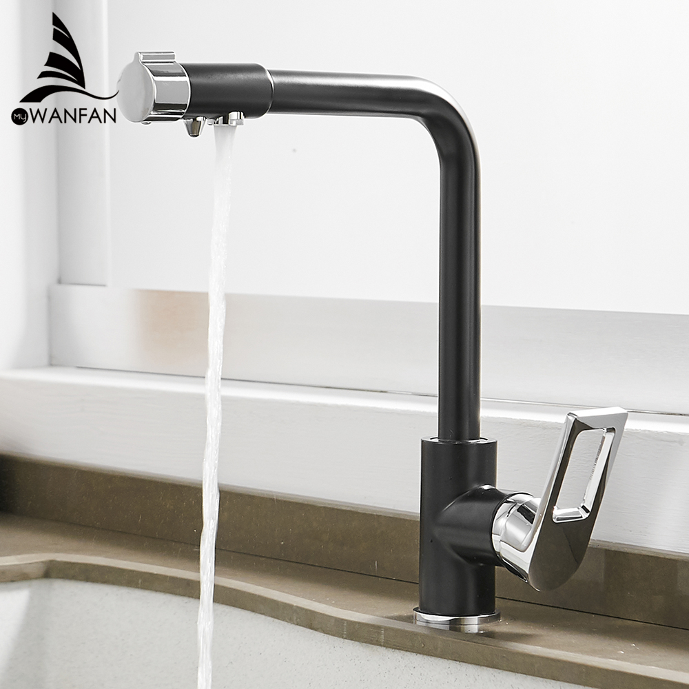 Waterfilter Taps Kitchen Faucets Brass Mixer Drinking Kitchen Purify Faucet Kitchen Sink Tap Water Tap Crane