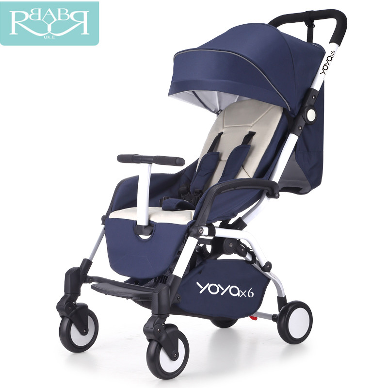 Babyruler lightweight Folding aluminum Luxury baby stroller baby carriage 3 in 1 Prams For Newborns Kinderwagen can sit or lie luxury aluminum watch