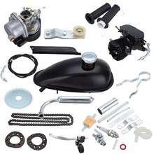 (Shipping From Germany) 80cc 2-Stroke 26 28Motor Bicycle Motorized Bike Petrol Engine kit  Black free shipping s91ar s91arii asp 15cc 2 stroke engine fixed wing aircraft