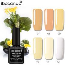 УФ гель для ногтей ibcccndc 6 шт/компл 10 мл цветов Полупостоянный