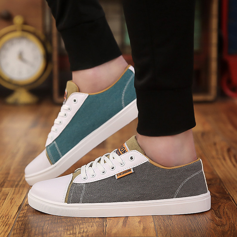 Canvas Shoes Sneakers Summer Men's Flats Trainers Casual Fashion Pour Chaussures Hommes
