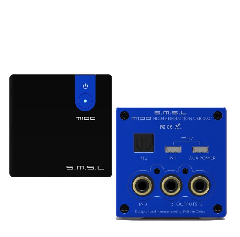 Digital-analog-wandler Zielsetzung Smsl M100 Dac Digital-decoder Pcm32bit/768 Khz Dsd512 Ak4452 Chip Optische Koaxial Usb Eingang Audio Verstärker Decoder Unterhaltungselektronik