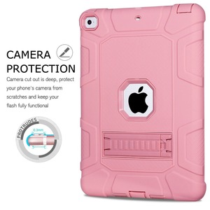 Image 3 - Shockproof Heavy Duty Rubber Hard Stand Case Cover For iPad 9.7 2018 Case 6th Gen A1893  A1954 2017 5th Gen A1822 A1823