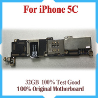 32GB 100 Original Motherboard For IPhone 5C Unlocked Mainboard IOS System Logic Board Good Working Main