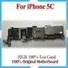 32GB 100 Original Motherboard For IPhone 5C Unlocked Mainboard IOS System Logic Board Good Working Main