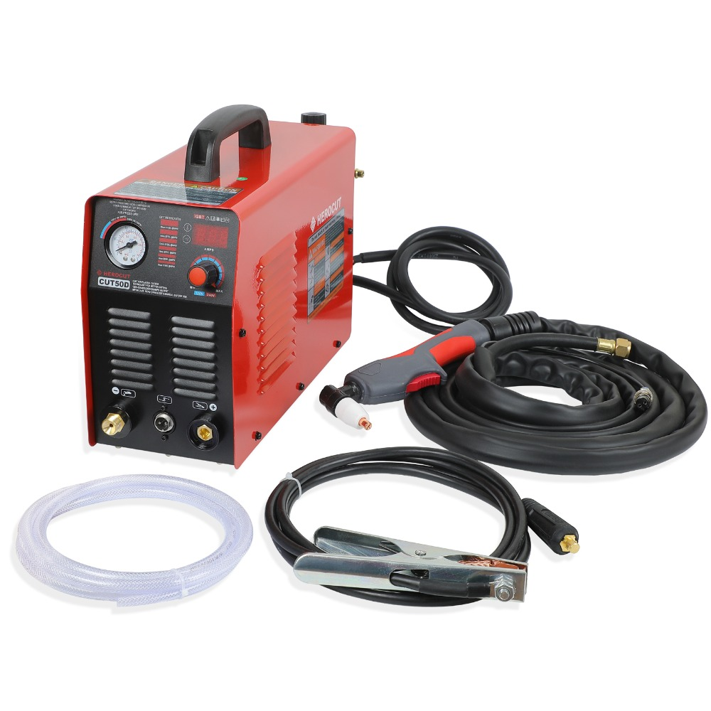 IGBT Plasma Cutter CUT50D 110 220V Arcsonic HeroCut Plasma cutting machine 14mm Cutting Thickness in Plasma Welders from Tools
