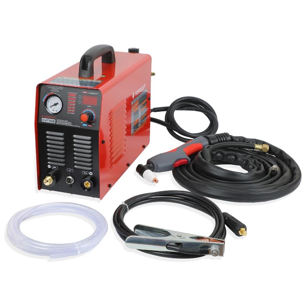 IGBT Plasma Cutter CUT50DE 110/220V Arcsonic HeroCut Plasma Cutting Machine 14mm Cutting Thickness