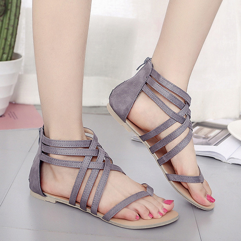 Women Sandals Gladiator Sandals For Ladies Shoes Fashion Women Shoes New Cross Tied Women Flat Sandals Rome Summer ShoesWomen Sandals Gladiator Sandals For Ladies Shoes Fashion Women Shoes New Cross Tied Women Flat Sandals Rome Summer Shoes