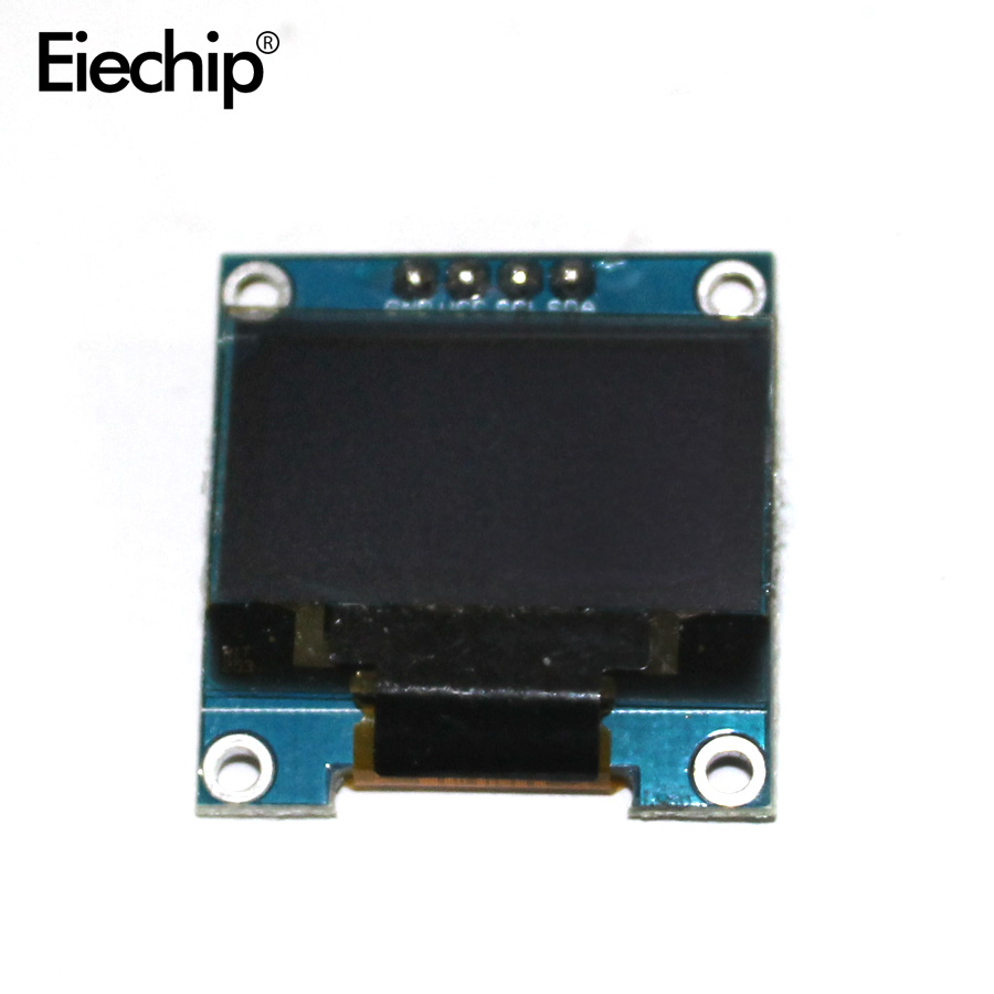 blue or white color 128X64 0.96 inch OLED LCD LED Display Module For Arduino 0.96 IIC SPI Communicate