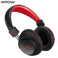 Mpow Drahtlose Bluetooth Kopfhörer Mit Mic Weiche Ohrpolster Noise Cancelling Headset Kopfhörer Freisprecheinrichtung Call Für iPhone Android TV