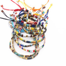 Go2boho Miyuki Tila Beads Bracelet Bracelets Women Summer Beach Boho Pulseras Mujer Jewelry Colorful Insta Janpan joyeria