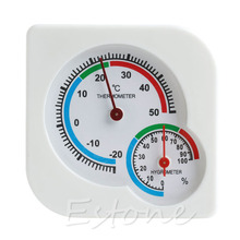 Mini Digital Thermometer Hygrometer Temperature Humidity Meter A7 Indoor Outdoor