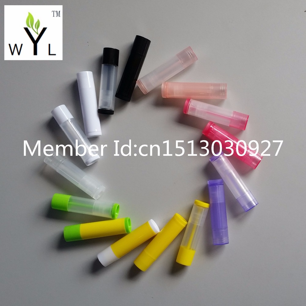 5g empty lipstick tube 5ml lip balm tube container for cosmetic packing WYL 300pcs
