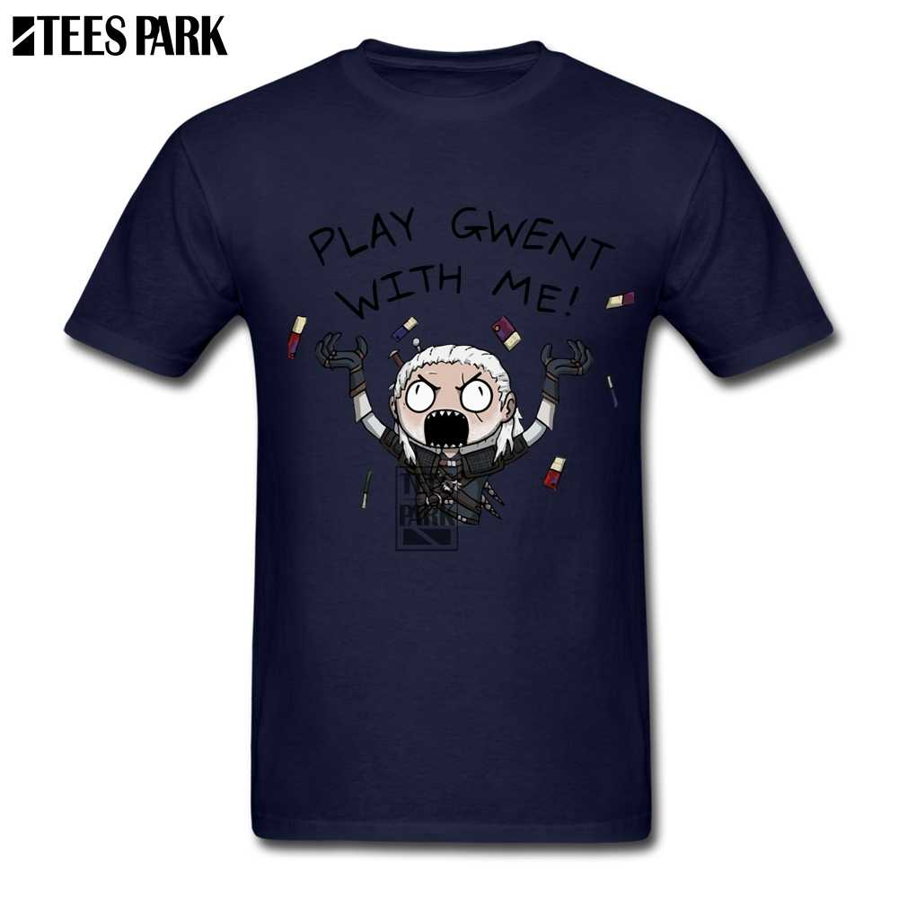 4a277dcdd ... Digital Printing T Shirts The Witcher Gwent Funky T Shirts Man Crewneck  Short SLeeve Sleeve Clothes ...
