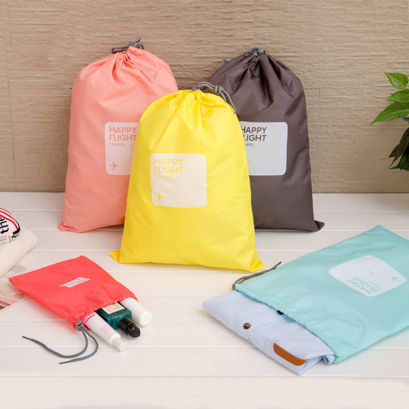 One IUX Bags Packing Clothing Travel Pieces Cube Unisex Storage Nylon Zipper Of Set Capacity 6 Sorting Big Waterproof 5