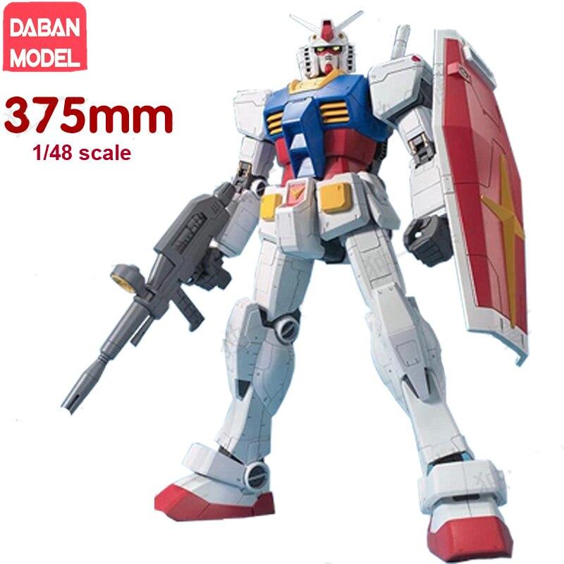 Daban Gundam méga taille modèle 1/48 échelle RX-78-2 de chasse avec pistolet et bouclier dans la boîte de vente au détail