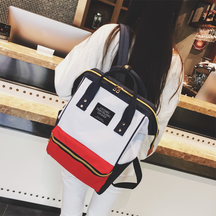 Oxford Women Backpack Big Capacity 20-35 Litre Student Backpack High Quality Schoolbags For Teenage Girls Fashion Black Book Bag oxford team student s book 1