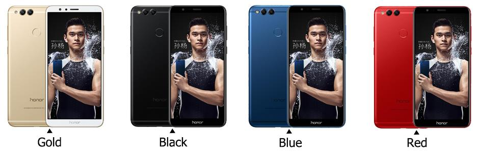 honor 7x al color