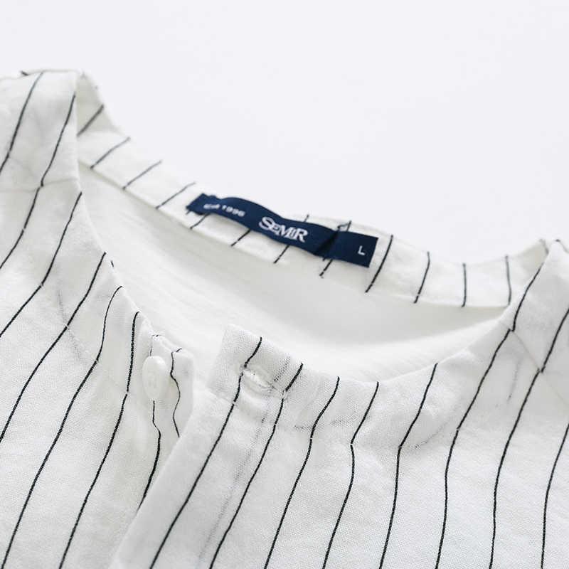 セミール半袖シャツ男子学生夏新韓国シャツ小さな新鮮なストライプ襟襟シャツユース
