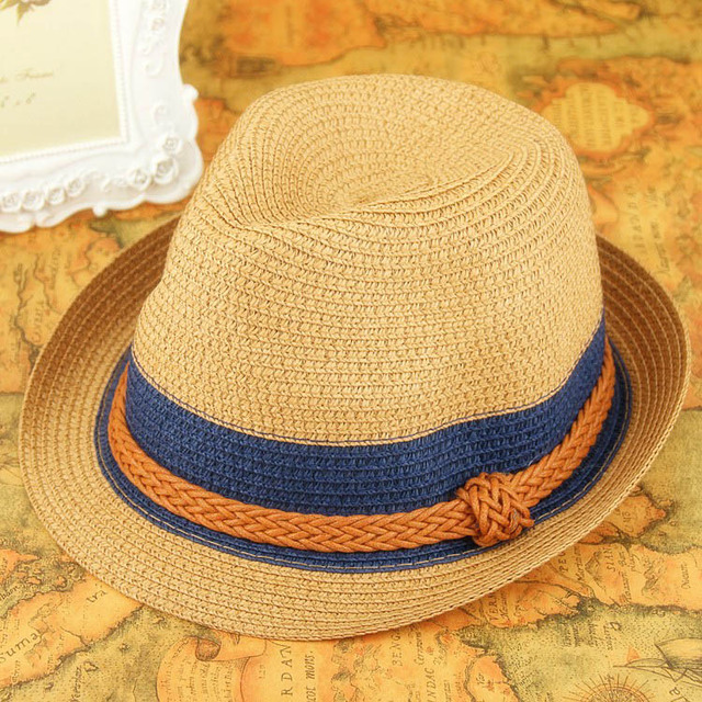 2018 Women Jazz Hat Fashion Summer Lady Hat Korean Trendsetter  Beach Resort England Hat Quality Girl Straw Hat by Mungsum