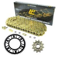 LOPOR MOTORCYCLE 530 CHAIN Front Rear SPROCKET Kit Set FOR zx12r 2000