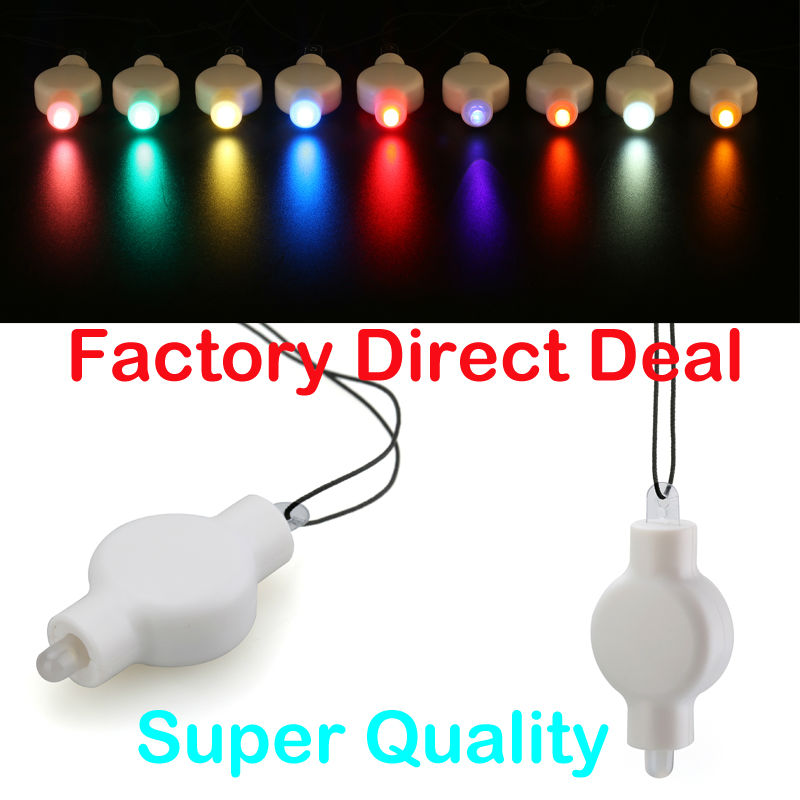 Factory Direct Deal!!! Super Bright CR2032 Battery Operated Hanging LED Floralyte With Fish Wire For Paper Lantern Lighting image