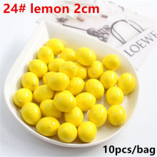 10 шт. искусственные реалистичные искусственные лимон желтый и искусственные фрукты для украшения