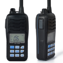 HYS TC-36M New Black Walkie Talkie Radio 80CH VHF Waterproof IP-X7 Handheld HF Transceiver Portable Large LCD Display