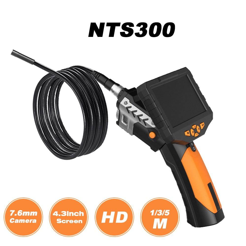 Ehrgeizig Teslong Nts300 Professionelle Industrie Endoskop Endoskope 4,3 farbe Display 7,6mm Kamera Mit 16g Tf Karte Und 2600 Mah Batterie Werkzeuge