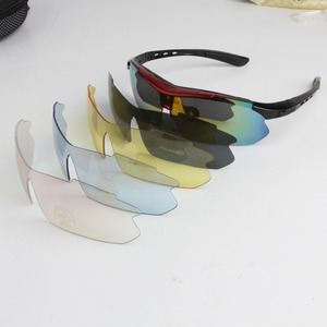 Image 3 - Polarized Cycling Glasses Bike Outdoor Sports Bicycle Sunglasses For Men Women Goggles Eyewear 5 Lens Cycling Glasses MTB