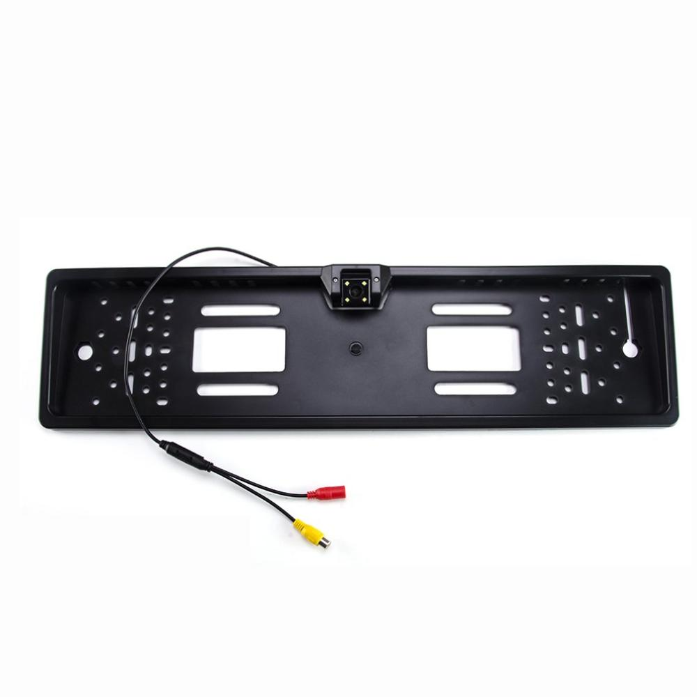 License Plate Frame Camera Rear View Reversing Image Visible Rear View Camera