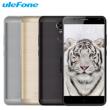 Original Ulefone Tiger Cell Phone 2GB RAM 16GB ROM MTK6737 Quad Core 5.5″ 1280×720 Android 6.0 Fingerprint Dual SIM Smartphone
