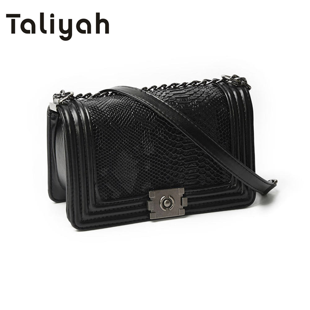 Winter Vintage Fashion Chain Luxury Handbags Women Bag Designer Women Messenger