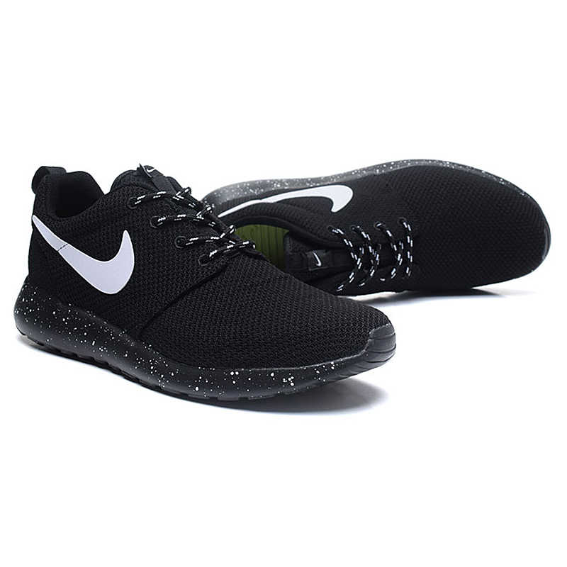 8ace51cc22cc ... Original Authentic NIKE ROSHE RUN Men s Running Shoes Sport Outdoor  Sneakers Low Top Mesh Breathable Brand