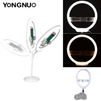 YONGNUO YN128 Ring Light Camera Photo/Studio/Phone/Video 128 LED 3200K 5500K Photography Dimmable Ring Lamp