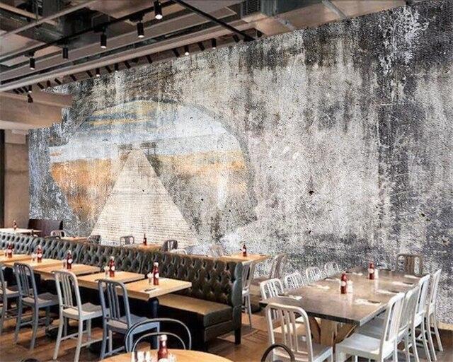 Beibehang Custom wallpapers home decoration murals retro nostalgic