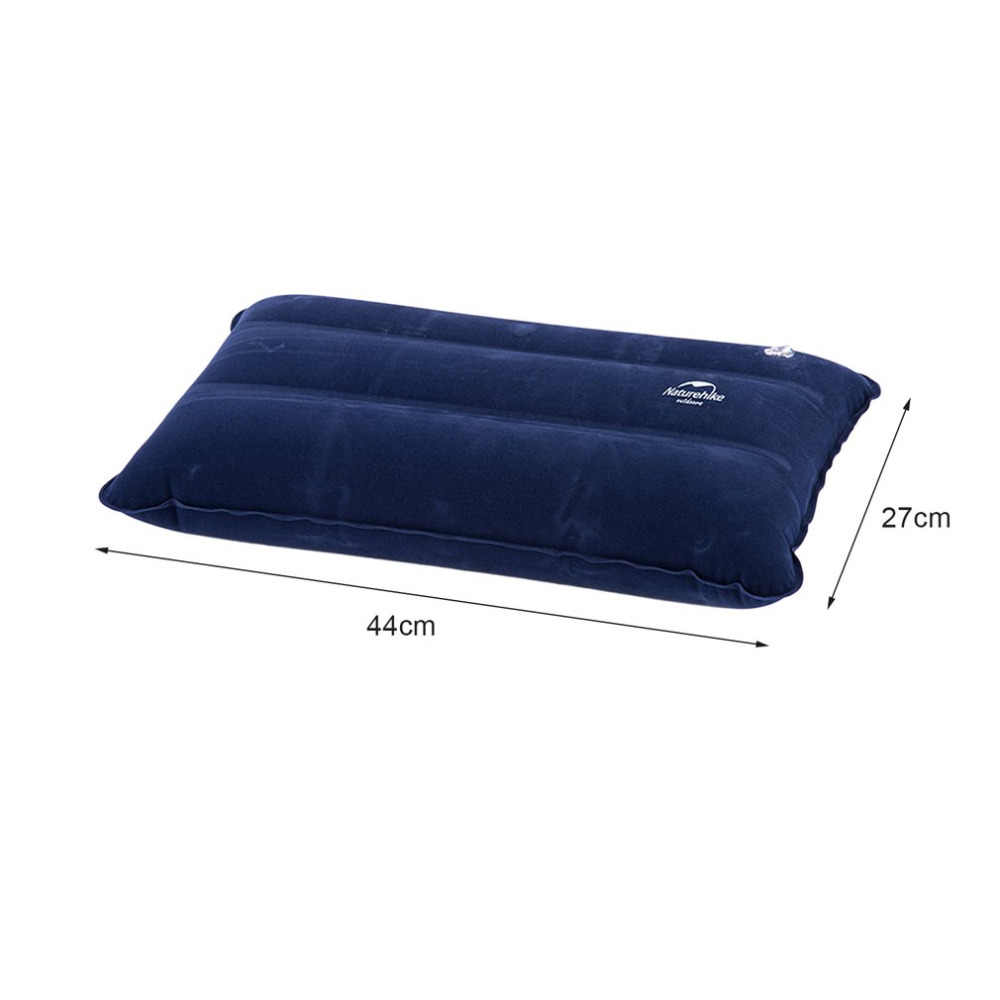 Naturehike 44*27 センチメートル超軽量正方形のポータブル空気インフレータブル屋外キャンプ旅行ソフト枕