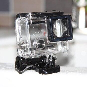 10PCS for GoPro Hero 4 Black Underwater Waterproof Housing Case for GoPro Hero 4 Hero 3+ plus Mini Camcorder Accessories