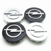 4 шт. 56 59 60 65 68 мм Opel Авто Стайлинг крышки обода Логотип колеса колпачки эмблема Центр Колпачки значок колеса центр ступицы крышка аксессуары