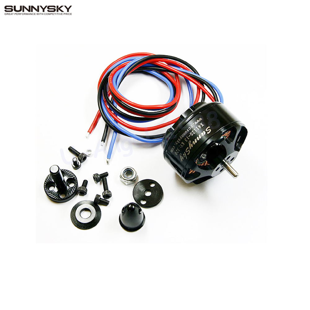 1pcs SunnySky X4112S 320kv 400kv 485kv Efficient multi-axis outrunner  Brushless Motor,15x5  prop 320W Multi-rotor Aircraft