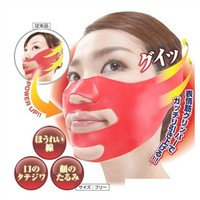 1pc 3D Face Slimming Belt Cheek Lift Up Sleeping Strap Band Cheek Scalp Face Shaper Belt