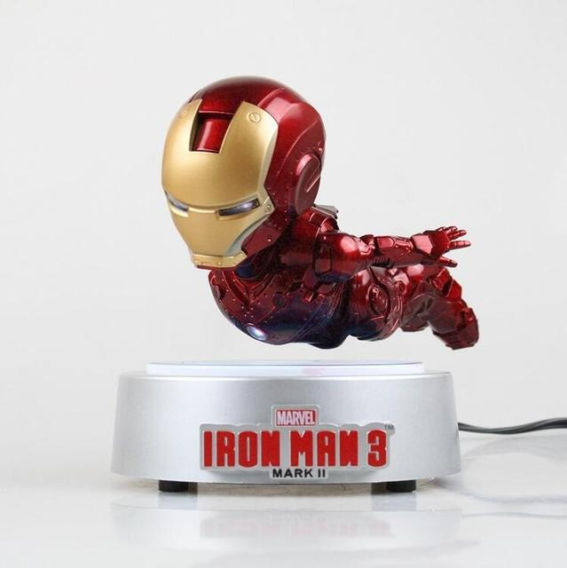 [Limited] The Avengers Rotating flying Iron man MK magnetic floating ver. with LED Light Iron Man Action Figure Collection gift 1