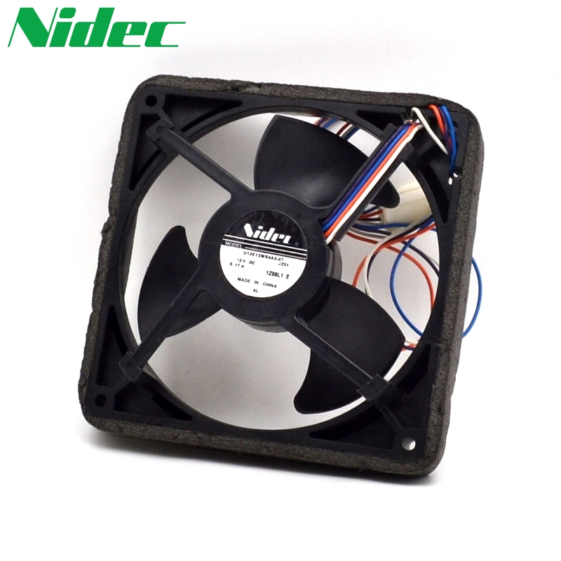 Free shipping original Nidec  J232 12V 0.17A U12E12MS4A3-57 waterproof silent cooling fan original dc1052a a free shipping