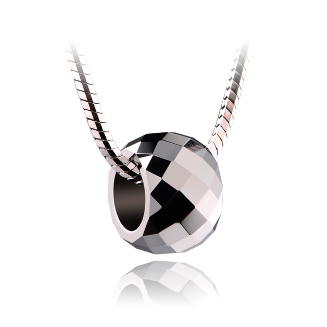 Unique Design Silver Tones Tungsten Pendant Mens&Womens Jewelry Free Chain Necklace Pendants Free Shipping