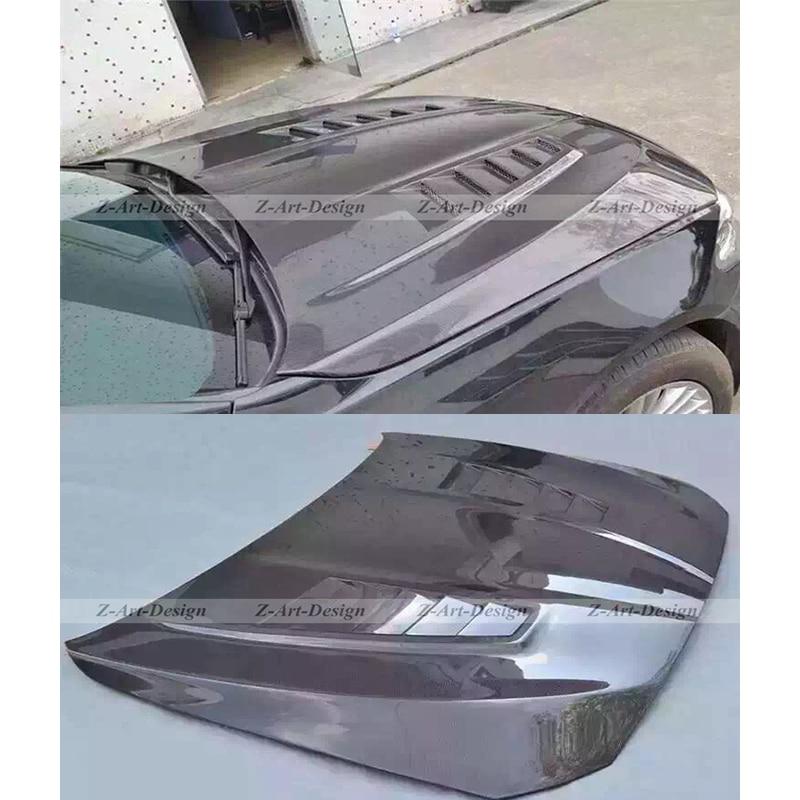 Carbon Fiber Front Engine Hood Cover for BMW 5 2010 2017 ENGINE bonnet for BMW F10