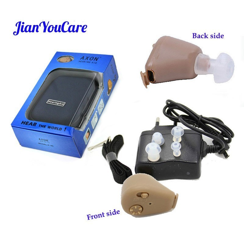 Hearing amplifier Ear Aid Rechargeable Small Convenient Adjustable Mini Hearing Aids Invisible Hear Clear care the