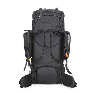 Image 4 - LOCALLION büyük 85L açık çanta tırmanma sırt çantaları yürüyüş çok fonksiyonlu sırt çantası büyük kapasiteli sırt çantası kamp spor çantaları