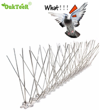 Hot selling 2M/5M Plastic Bird and Pigeon Spikes Anti Bird Anti Pigeon Spike for Get Rid of Pigeons and Scare Birds Pest Control