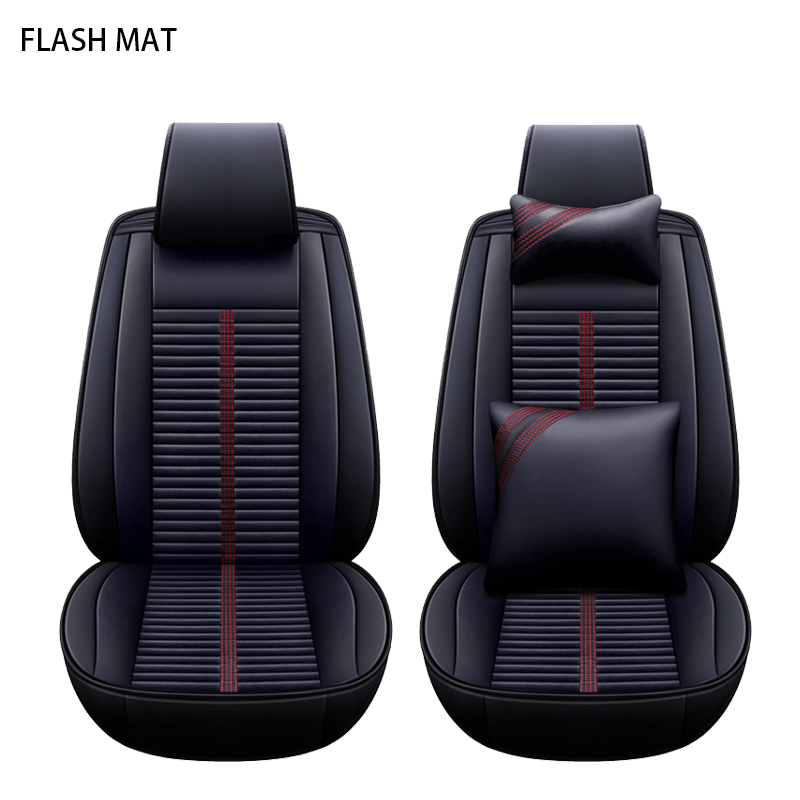 Universal car seat covers for honda accord Honda civic 2018 city 2013 cr-v jazz auto accessories Car seat protector kadulee ice silk car seat covers for honda city opel astra k lancia ypsilon honda accord 2003 2007 for land rover car styling